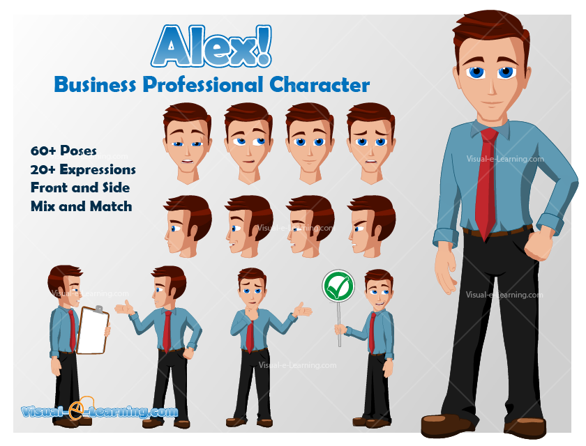 E Learning Cartoon Characters : Image gallery elearning characters