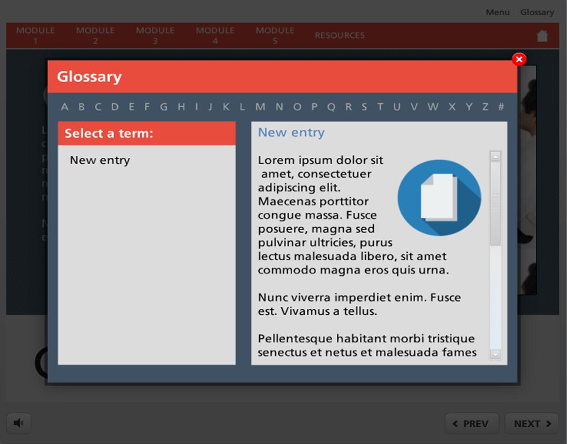 Freebie interactive glossary for storyline articulate storyline freebie interactive glossary for storyline toneelgroepblik Images