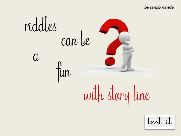 Riddles can be a fun with story line! - Articulate Storyline