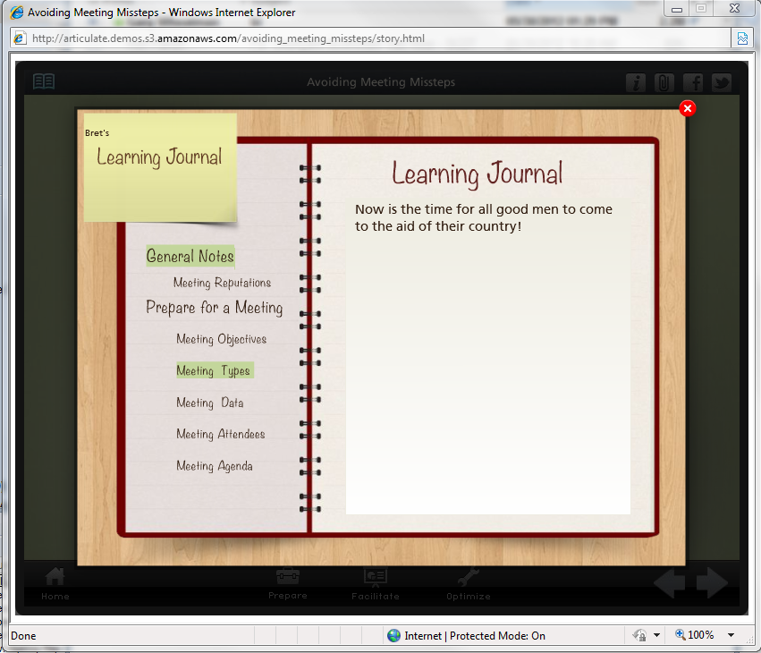 learning journal The journal's emphasis is on the study of management learning and education in  all types of settings—schools and universities as well as businesses and public.