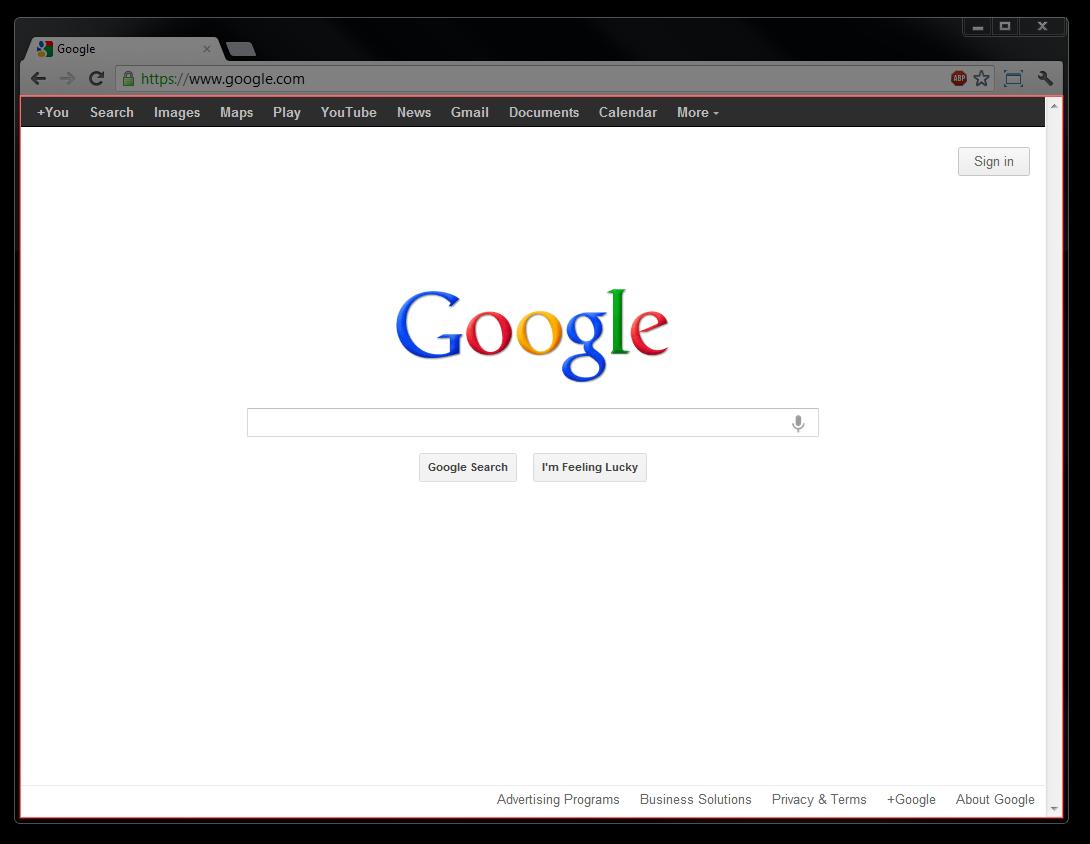 Unique Google Chrome Frame Collection - Ideas de Marcos ...