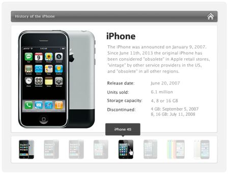 FREE IPhone Tabs Timeline For Storyline