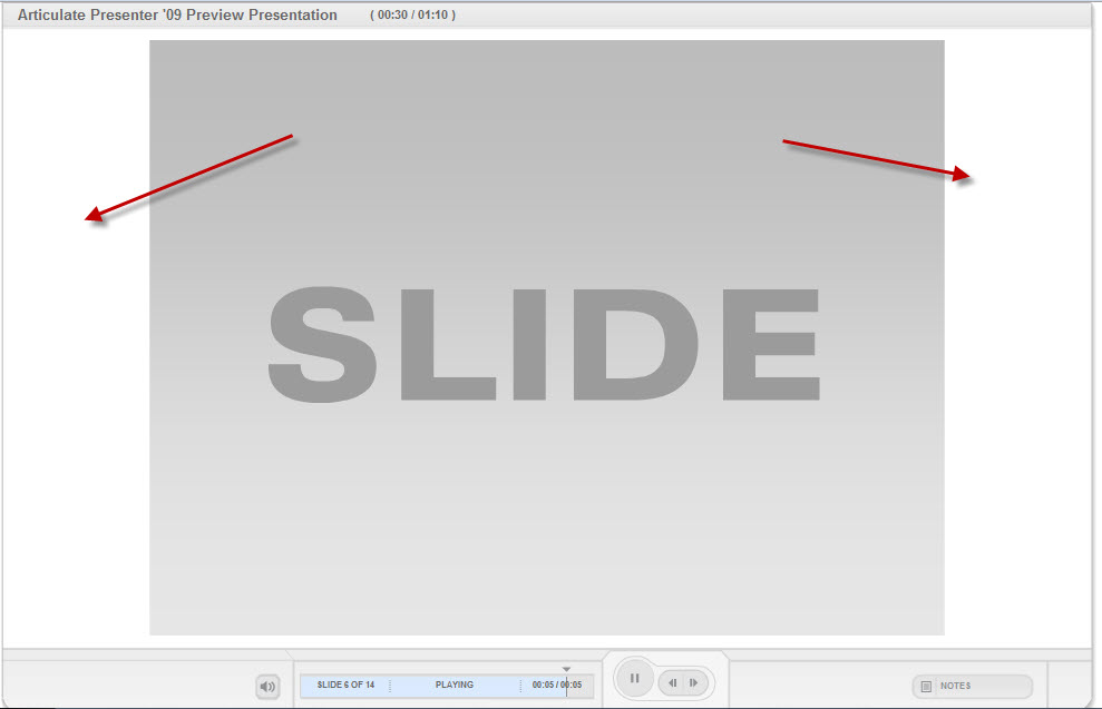 Changing the White side background in Presenter - Articulate ...