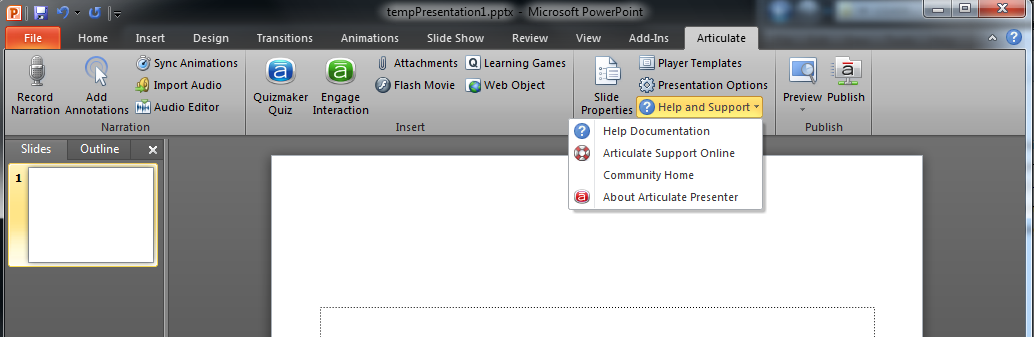 Studio Pro 09 Issue - Missing Activation window??? - Articulate ...