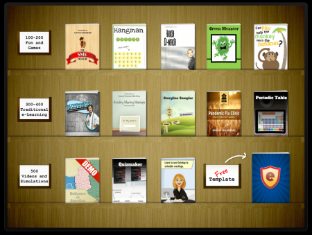 interactive bookshelf e learning heroes - Storyline Bookshelf
