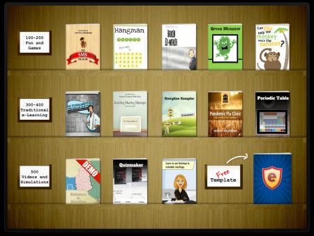 interactive bookshelf e learning heroes - Storyline Bookshelf