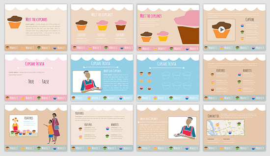 create an e learning template from clip art 8 e learning heroes