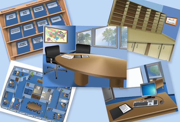 5 free office themed editable powerpoint backgrounds e learning i can already image tons of fun and creative e learning project ideas just by looking at these backgrounds the backgrounds were created using powerpoint toneelgroepblik Images