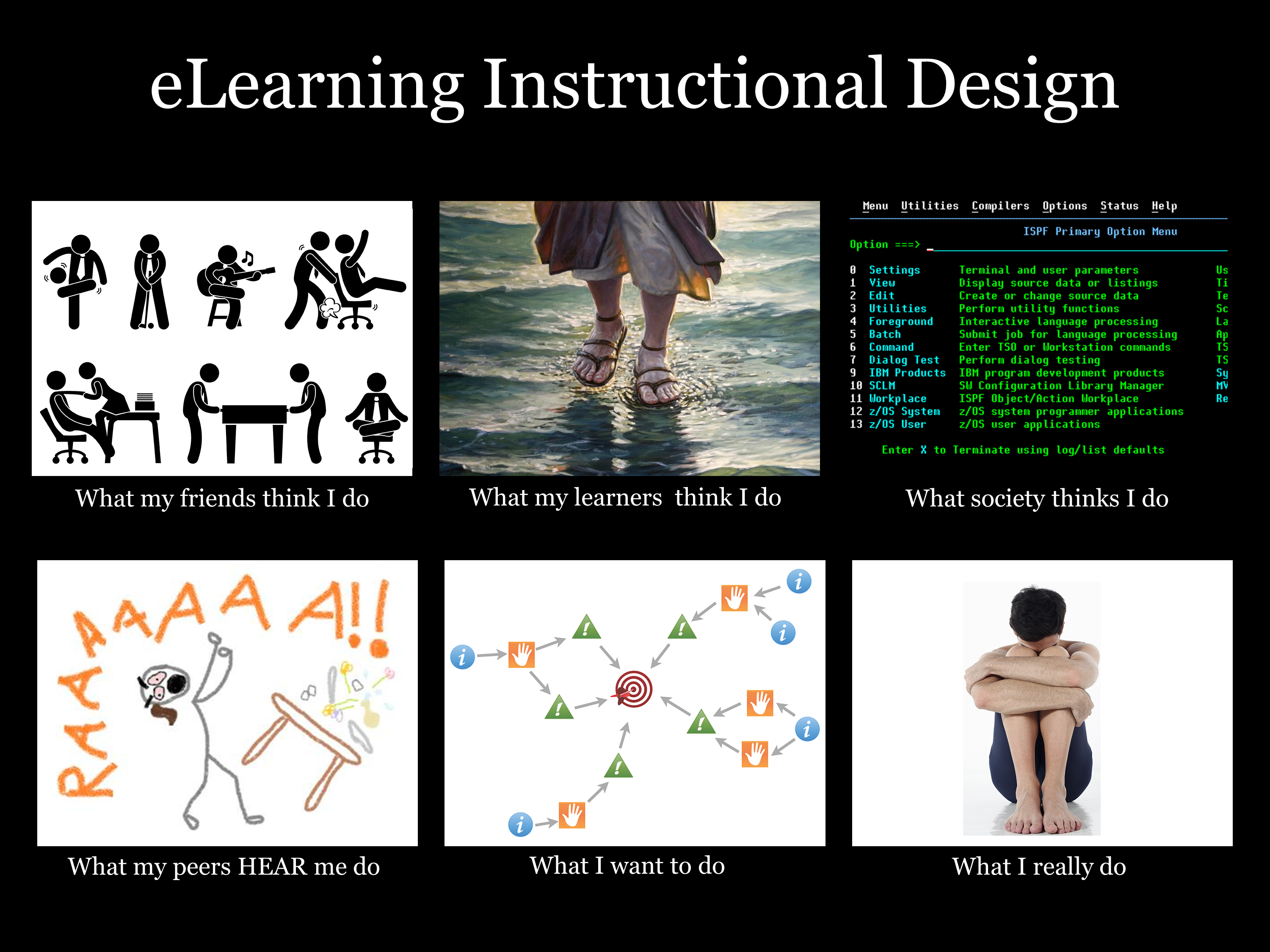What do e learning designers really do 30 e learning heroes i think theyre all hilarious httpsarticulate heroess3azonawscommentswhatireallydo abramsiegel1tgwqqg maxwellsz