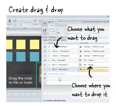Creating a Drag-and-Drop Interaction - E-Learning Heroes