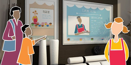 Create An E Learning Template From Clip Art 8