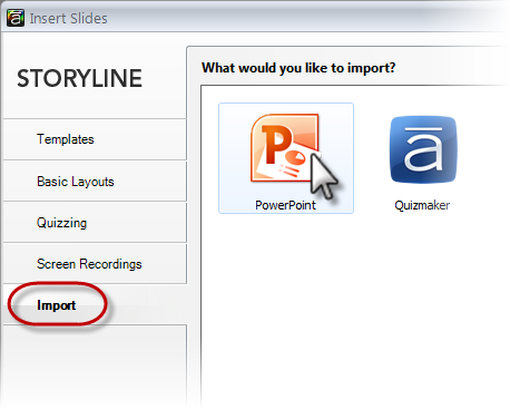 Import Powerpoint Slides Into Storyline 1 E Learning Heroes