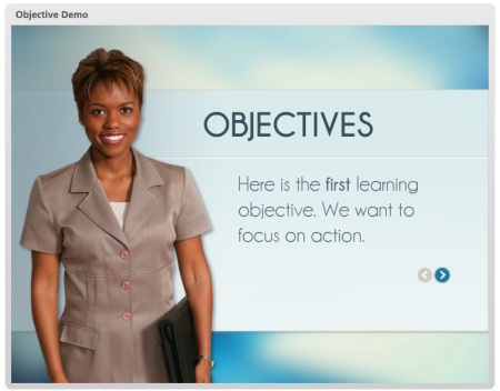 Articulate presenter templates, training & examples.