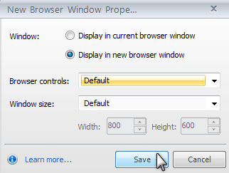 how to make a hyperlink open in a new window