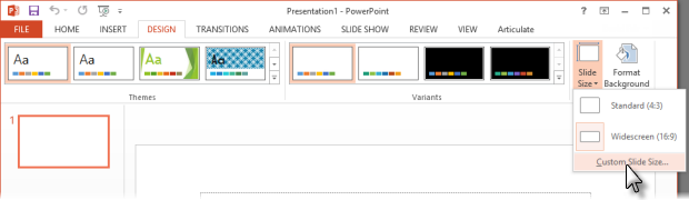 design for powerpoint 2013 - Ex
