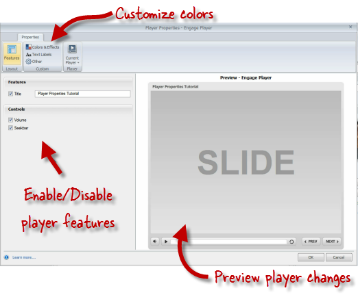 how to use articulate mobile player