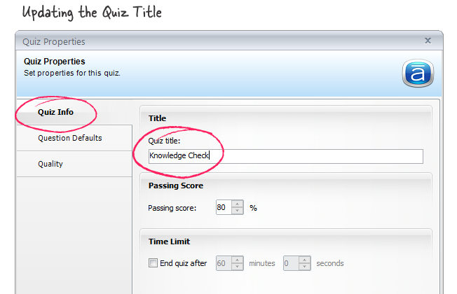 how to create an online quiz with results