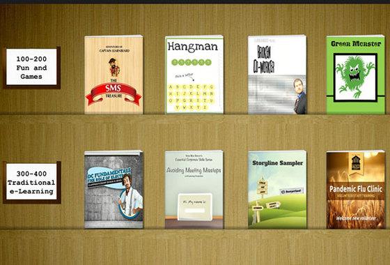 bookshelf downloads e learning heroes - Storyline Bookshelf