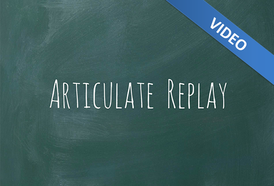 Chalkboard Replay Template - Video - Downloads - E-Learning Heroes