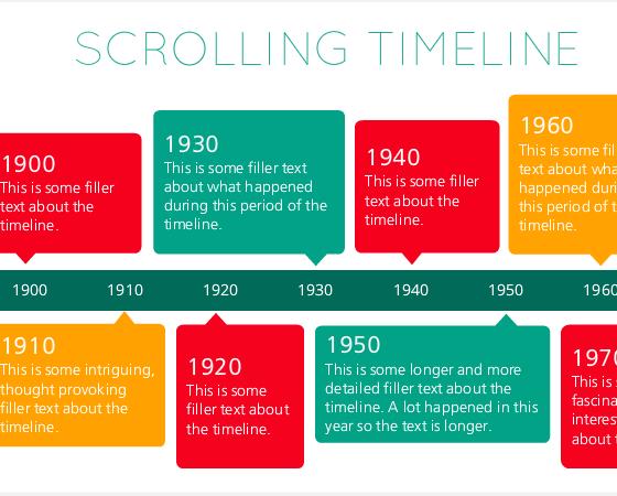 Storyline 2: Scrolling Horizontal Timeline