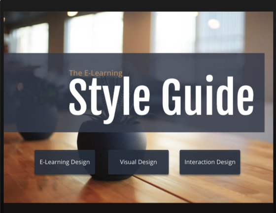PowerPoint '13: E-Learning Style Guide Template - Downloads - E ...