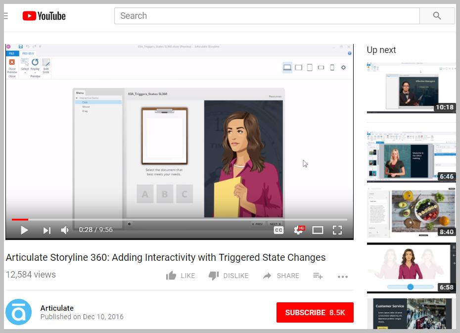 adding interactivity