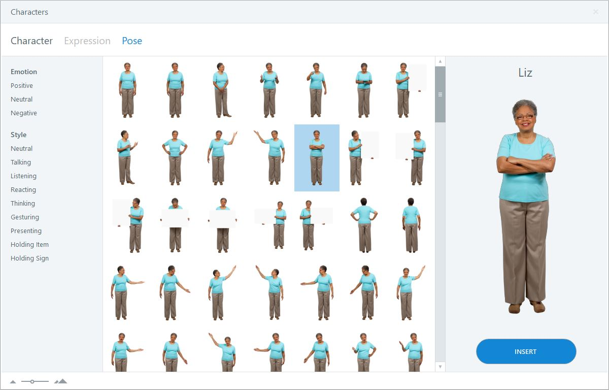 Storyline 360 Character Poses