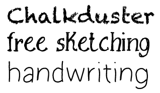 What's your favorite handwriting font & how do you use it