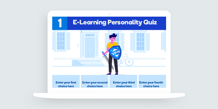 E-Learning Personality Quiz