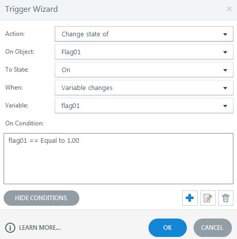 Master Slide Triggers