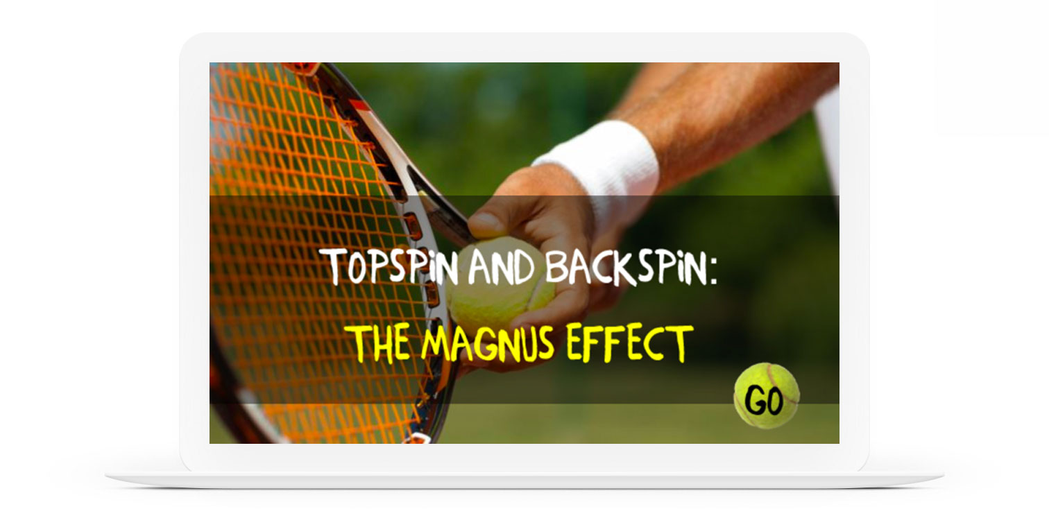 Topspin and Backspin