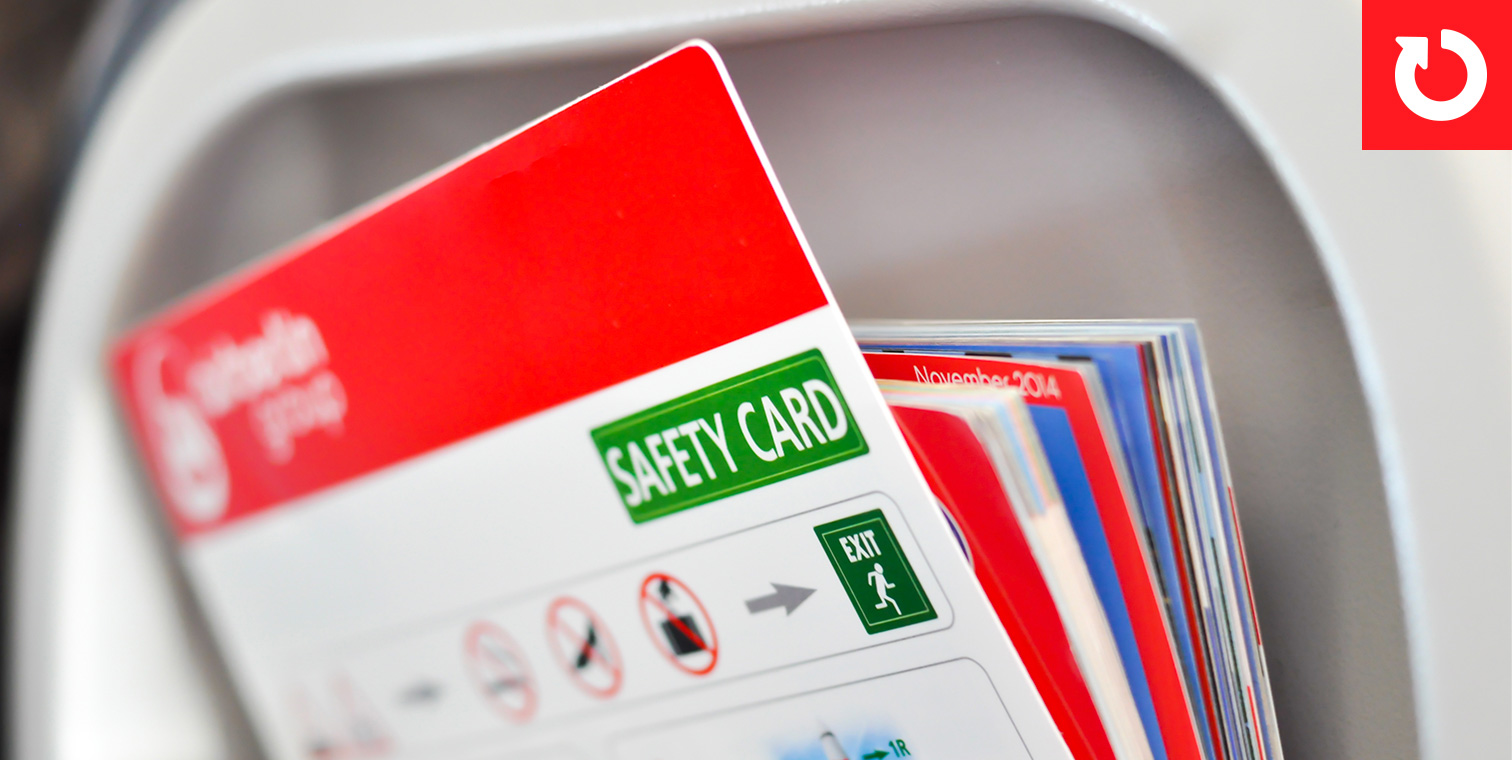 Interactive Passenger Safety Cards
