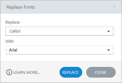 Replace Fonts in Articulate Engage 360
