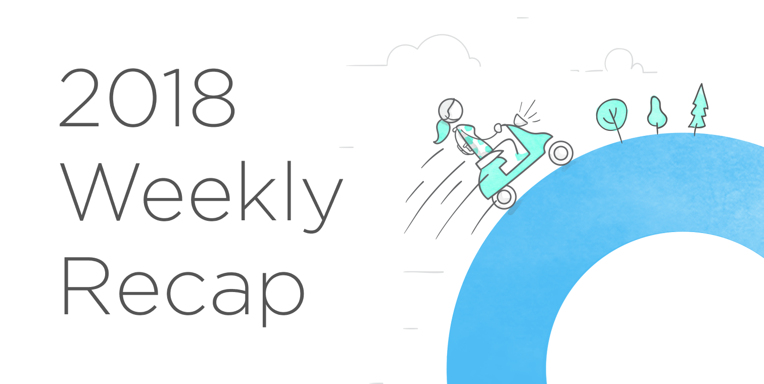 A Week in Review: May 28, 2018