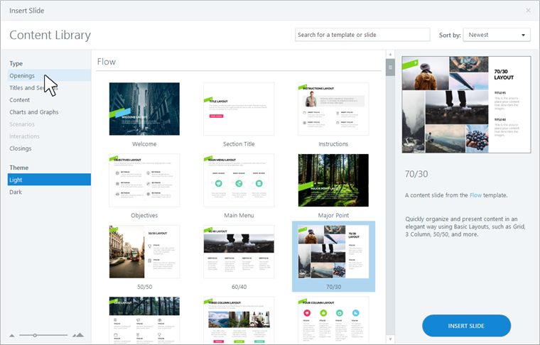 Use Content Library Templates in Presenter 360 - E-Learning Heroes