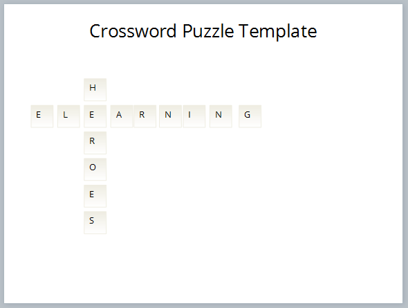 How to build a crossword puzzle for storyline with these text entry fields in place i quickly styled them by selecting them all and editing the fill and outline color a great way to line up the text pronofoot35fo Choice Image