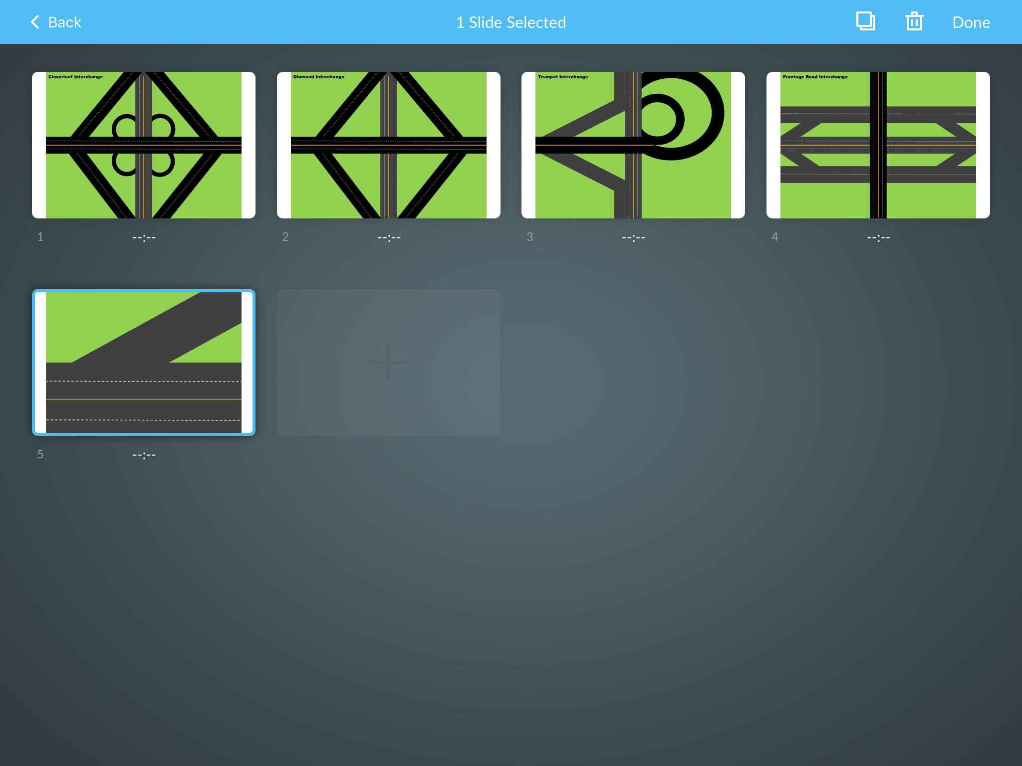 Step 4b: Reorder slides