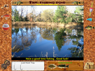 Fishing Game Main Screen
