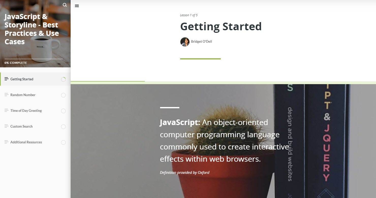 JavaScript Course Image