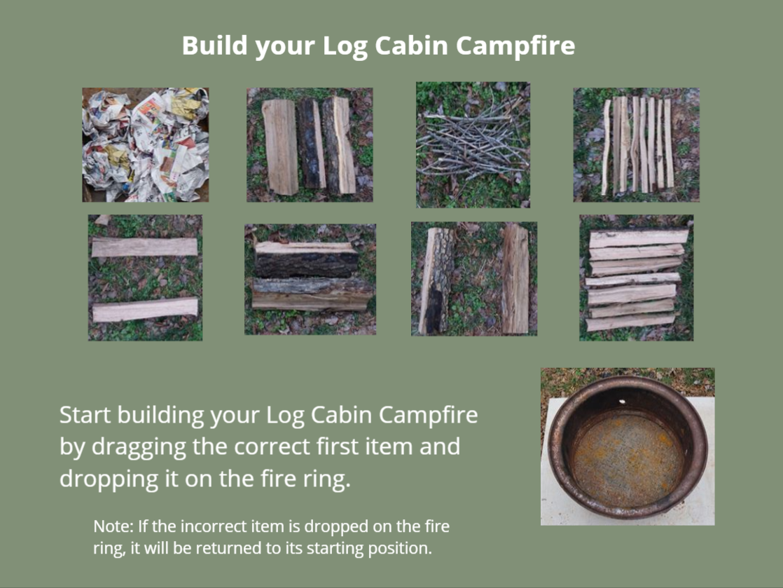 Build Your Campfire user interaction