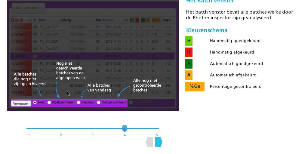 Interactive Screenshot Sliders