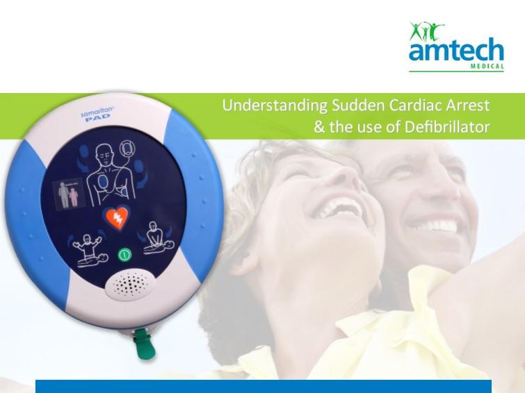 Amtech Defibrillator Range