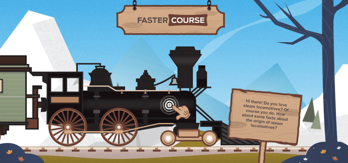 FasterCourse_Free_Storyline_Example_Trains