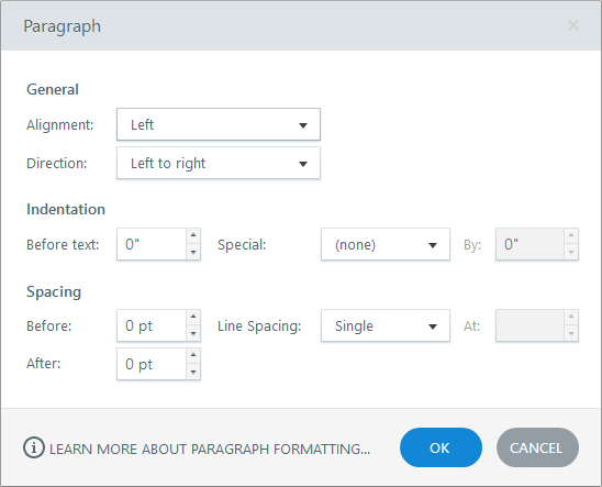 Paragraph Window in Articulate Quizmaker 360