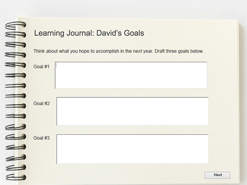 an example of learning journal A learning journal may be called several different things: a learning log, a fieldwork diary or personal development planner, for example different subject areas may ask you to focus on different aspects of your experiences and may also have a different format a journal could be a notebook, an electronic.