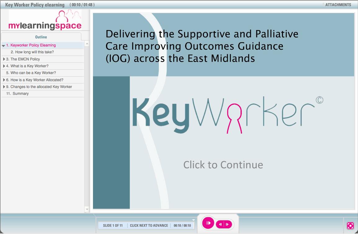 keyworker course