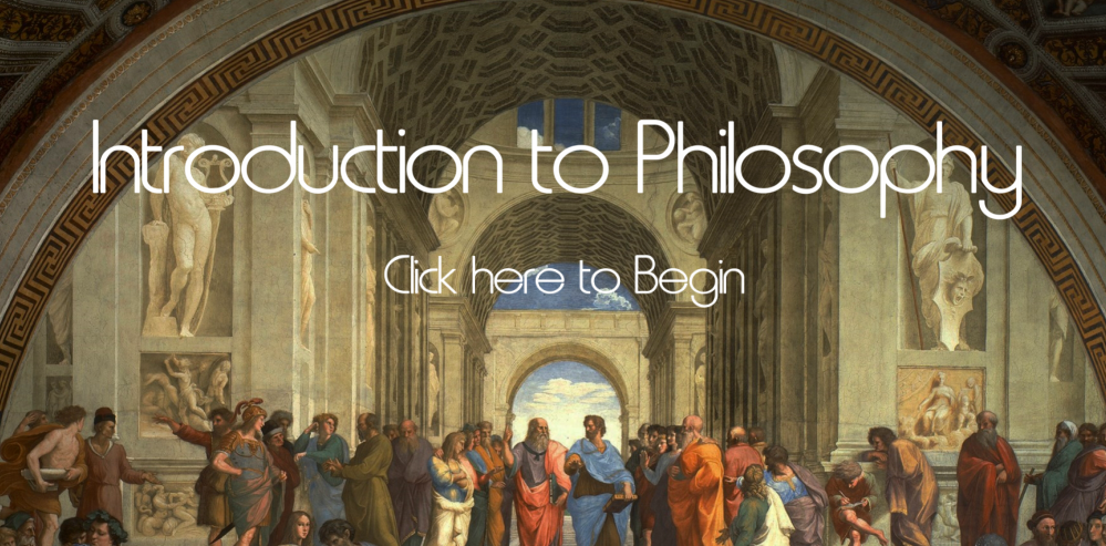 Screenshot of Introduction to Philosophy interaction