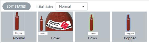 Red Hydrogen states