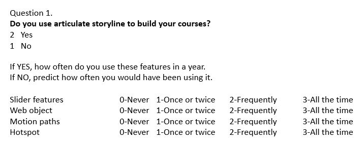 Adding multiple questions to one slide