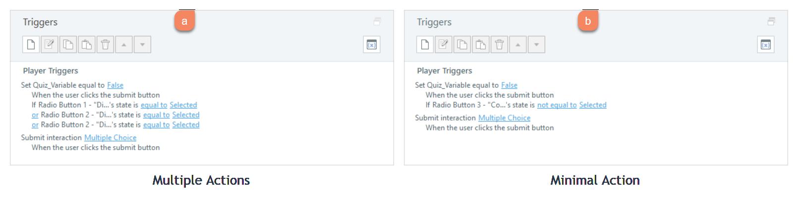 Articulate Storyline Trigger Workflow